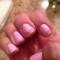 Photo taken at Bella Nails & Spa by Cindy C. on 1/27/2014