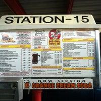 Photo taken at Dog n Suds Lafayette by Karin C. on 11/4/2012
