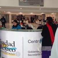 Photo taken at Tesoreria Acoxpa by Jorge P. on 10/6/2014