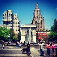 Photo taken at Washington Square Park by Rudolf F. on 5/21/2013