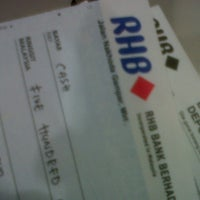 Photo taken at RHB Bank (Town) by Mohd S. on 10/22/2012