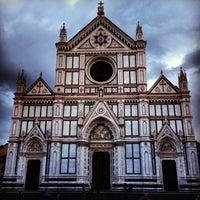 Photo taken at Basilica of Santa Croce by Derik T on 6/3/2013