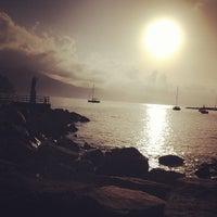 Photo taken at Lungomare di Santa Margherita Ligure by Simone M. on 9/30/2012