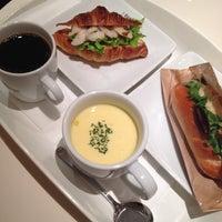 Photo taken at ドミニク・サブロン マルシェ・エ・カフェ 新宿ルミネ店 by gyoen on 1/18/2014