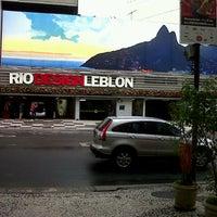 Photo taken at Rio Design Leblon by jozivaldo D. on 11/15/2012