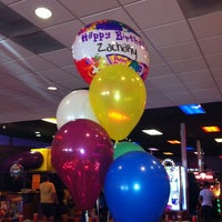 Photo taken at Peter Piper Pizza by Tina O. on 3/16/2013