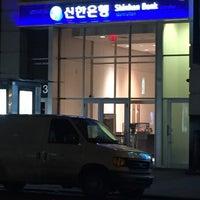 Photo taken at Shinhan Bank by Jean P. on 4/21/2015
