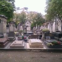 Photo taken at Cimetière du Montparnasse by Sonja D. on 10/9/2012