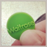 Photo taken at Waitrose by Peter L. on 5/31/2014