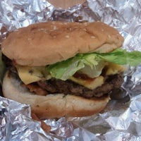Photo taken at Five Guys by Andre R. on 4/17/2013