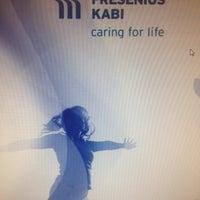 Photo taken at Fresenius Kabi Brasil Ltda. by Thayani C. on 4/30/2013