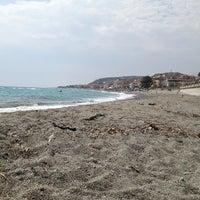Photo taken at Spiaggia di Bova Marina - Zona Fairstar by Dani E. on 8/26/2013