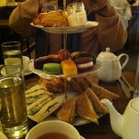 Photo taken at Bosie Tea Parlor by Nina Y. on 10/14/2012