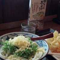 Photo taken at 丸亀製麺 信州中野店 by Eichi T. on 6/23/2013