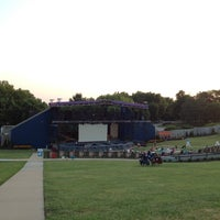 Photo taken at Shawnee Mission Theater In The Park by Nick T. on 7/23/2014