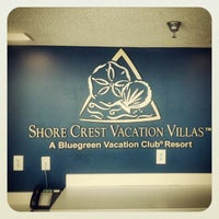 Photo taken at Shore Crest Vacation Villas by Chad B. on 10/15/2012