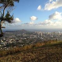 Photo taken at Puʻu Ualakaʻa State Park by Binh N. on 11/12/2012