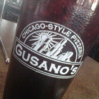 Photo taken at Gusano's Chicago Pizza by Rich L. on 10/27/2012
