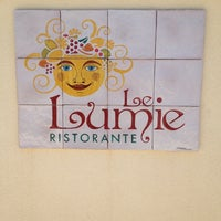 Photo taken at Le Lumie Restaurant by Giulia N. on 7/7/2013