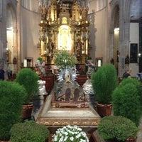 Photo taken at Església de Sant Nicolau by Bebe on 8/17/2013