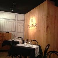 Photo taken at Ferrari Lounge by Matteo R. on 12/26/2012