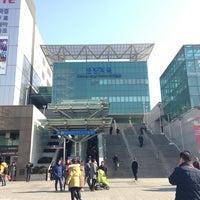 Photo taken at Cheongnyangni Stn. by William K. on 2/11/2013