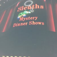 Photo taken at Sleuths Mystery Dinner Shows by Greg M. on 11/17/2012