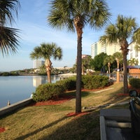 Photo taken at Holiday Inn Express & Suites Tampa/Rocky Point Island by Gene W. on 4/3/2013
