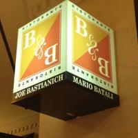 Photo taken at B & B Ristorante by David J. on 11/14/2012