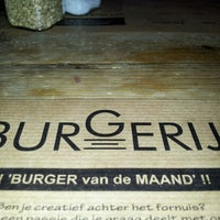Photo taken at Burgerij by Hans V. on 10/7/2012
