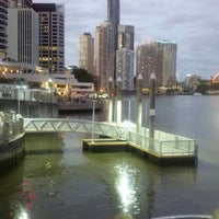 Photo taken at Eagle Street Pier Ferry Terminal by Chris W. on 1/6/2013