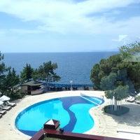 Photo taken at Antalya Hotel by Rhmi on 8/18/2013