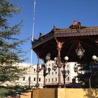 Photo taken at Plaza de Armas by Ricardo S. on 10/28/2012