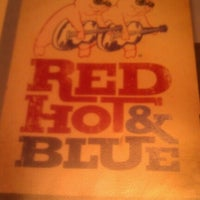 Photo taken at Red Hot & Blue  -  Barbecue, Burgers & Blues by Nancy N. on 10/9/2012