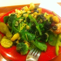 Photo taken at Souplantation by Mario on 12/17/2012