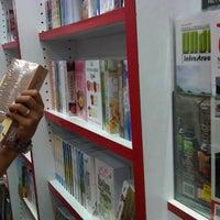 Photo taken at Popular Bookstore by Nurasma F. on 3/24/2013