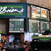 Photo taken at O'Briens Irish Sandwich Cafe by Nini Marina on 10/17/2012
