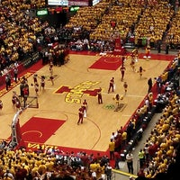 Photo taken at James H. Hilton Coliseum by Eric B. on 2/26/2013