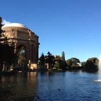 Photo taken at Palace of Fine Arts by Michelle K. on 12/19/2012