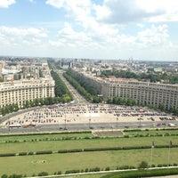 Photo taken at Palatul Parlamentului by Camelia T. on 7/10/2013