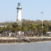Photo taken at St. Simons Island Pier by Lisa A. on 3/30/2013