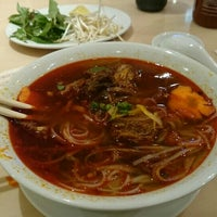 Photo taken at Phở Hòa by Webster A. on 4/18/2015
