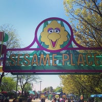 Photo taken at Sesame Place by Adam B. on 5/4/2013