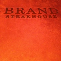 Photo taken at Brand Steakhouse & Lounge by Joanne on 2/17/2013