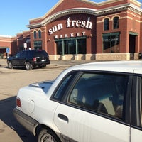 Photo taken at Marsh's Sun Fresh Market by David A. on 3/9/2014