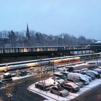Photo taken at Poughkeepsie Station - Metro North & Amtrak by Andrew T. on 1/16/2013