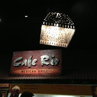 Photo taken at Cafe Rio Mexican Grill by Lisa on 1/6/2013