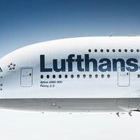 Photo taken at Lufthansa Flight LH 720 by Lufthansa on 8/2/2013