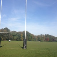 Photo taken at Henley Hawks Rugby Club by Mark H. on 10/30/2012