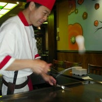 Photo taken at Kiraku Hibachi & Sushi by Maryjane V. on 9/23/2012